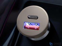 شارژر فندکی سریع دو پورت مک دودو Mcdodo PD+QC Car Charger CC-656