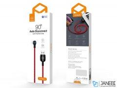 کابل شارژ هوشمند و انتقال داده لایتنینگ مک دودو Mcdodo Auto Disconnect Lightning Data Cable 1.2m CA-579