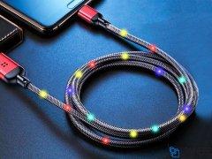 کابل لایتنینگ رقص نور راک Rock R6 Lightning Cable 1M