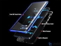 قاب مگنتی و محافظ صفحه شیشه ای سامسونگ Glass Magnetic 360 Case Samsung Note 10