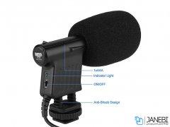 میکروفون با سیم مخصوص دوربین بویا BOYA BY-VM01 Directional Video Condenser Microphone