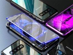 قاب مگنتی و محافظ صفحه شیشه ای سامسونگ Samsung S10