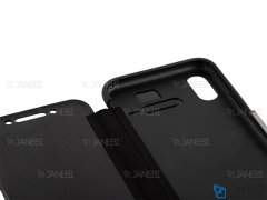 کیف محافظ چرم آیفون VGP Magnetic Leather Cover iPhone X/XS