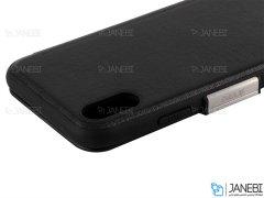 کیف محافظ چرم آیفون VPG Magnetic Leather Cover iPhone XS Max