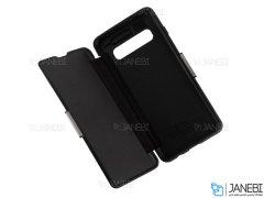 کیف محافظ چرم سامسونگ VPG Magnetic Leather Cover Samsung S10 Plus