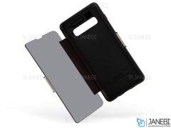 کیف محافظ سامسونگ VPG Magnetic Transparent Cover Samsung S10