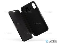 کیف محافظ چرم آیفون VGP Magnetic Leather Cover iPhone XS Max
