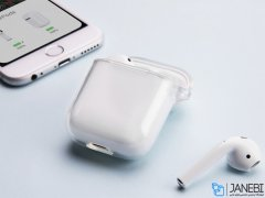 کاور محافظ شفاف ایرپاد Stoptime Protcetive Case Transparent Airpods