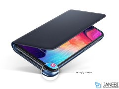 کیف اصلی سامسونگ Samsung Galaxy A50 Wallet Cover