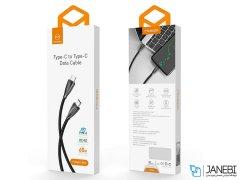 کابل تایپ سی به تایپ سی سریع مک دودو Mcdodo Type-c To Type-c Data Cable 1.5m