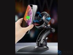 پایه نگهدارنده هوشمند و شارژر وایرلس مک دودو Mcdodo Infrared Wireless Car Mount