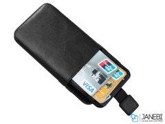 قاب چرمی چندمنظوره آیفون HDD Invisible Wallet iPhone XS