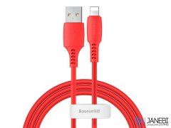 کابل شارژ و انتقال داده لایتنینگ بیسوس Baseus Colourful Lightning Cable 1.2M