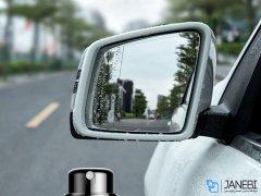 اسپری و دستمال تمیزکننده بیسوس Baseus CRFYJ-01 Rearview Mirror Rainproof Sprayer