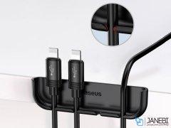 نگهدارنده کابل و قاب نصب گلس آیفون بیسوس Baseus Film&Cable Bundle Auxiliary iPhone XS Max