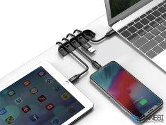 نگهدارنده کابل و قاب نصب گلس آیفون بیسوس Baseus Film&Cable Bundle Auxiliary iPhone X/XS