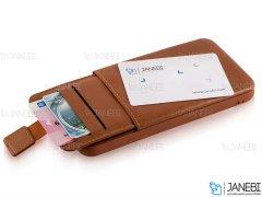 قاب چرمی چندمنظوره سامسونگ HDD Invisible Wallet Samsung S10 Plus