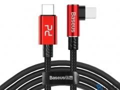 کابل شارژ سریع تایپ سی به لایتنینگ سریع بیسوس Baseus MVP Elbow PD Flash Charge Cable 2M