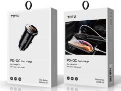 شارژر فندکی دو پورت فست شارژ توتو Totu Elite Series Fast Car Charger DCCPD-02