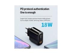آداپتور فست شارژ 18 وات مکدودو Mcdodo CH-717 USB-C/USB-A LED Adapter