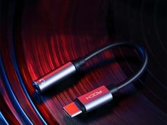 مبدل تایپ سی به به جک 3.5 میلیمتری راک Rock RCB0666 Type C to Audio Adapter Cable