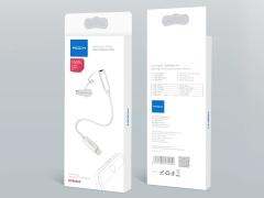 مبدل لایتنینگ به جک 3.5 میلیمتری راک Rock RCB0665 Lightning To Audio Adapter Cable