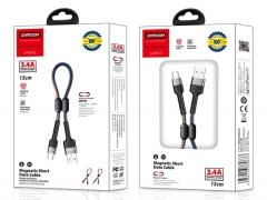 کابل شارژ و انتقال داده مگنتی جویروم Joyroom Magnetic Data Cable USB-C 15cm