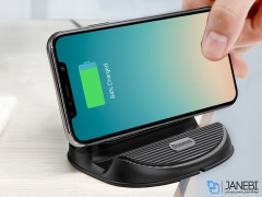 شارژر وایرلس بیسوس Baseus BSWC - P11 Silicone Desktop Wireless Charger