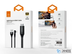 کابل تبدیل لایتنینگ به اچ دی ام آی مک دودو Mcdodo CA-6400 Lightning to HDMI Data Cable 2m