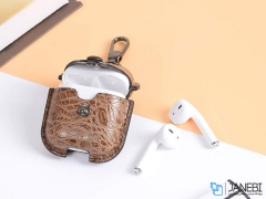 کاور محافظ چرمی ایرپاد اپل Keephone Taipar AirPods Case