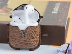 کاور محافظ چرمی ایرپاد اپل Keephone AirPods Case