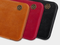 کیف نیلکین Nillkin Qin Leather Case Xiaomi Redmi Note 8T