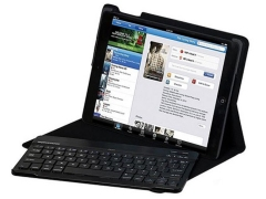کیف کیبورد دار بی سیم آیپد ایر پرومیت Promate Bare Wireless Keyboard Case iPad Air