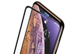 محافظ صفحه نمایش شیشه ای و محافظ اسپیکر دوتایی بیسوس آیفون Baseus Full Glass Screen iPhone XR
