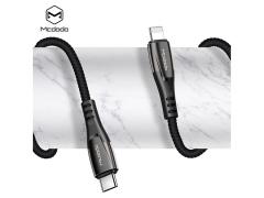 کابل شارژ سریع تایپ سی به لایتنینگ Mcdodo PD Quick Charge Type-C to Lightning 1.8M