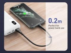 کابل شارژ و انتقال داده لایتنینگ مک دودو Mcdodo Lightning Data Cable 0.2m CA-744