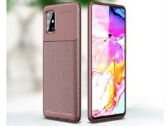 قاب ژله ای فیبر کربن سامسونگ Becation Carbon Fiber Case Samsung A51
