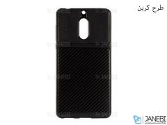 قاب ژله ای طرح چرم نوکیا Auto Focus Jelly Case Nokia 6