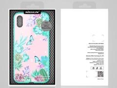 قاب محافظ مگنتی نیلکین آیفون Nillkin Floral case Apple iPhone XS Max