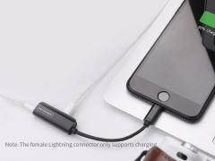 مبدل لایتنینگ به صدا نیلکین Nillkin RockPower audio adapter-Lightning to Lightning&3.5mm