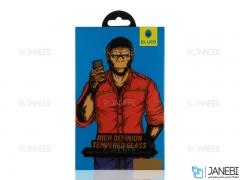 محافظ صفحه نمایش شیشه ای آیفون Blueo Silk Full Cover Glass iPhone XR/11
