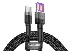 کابل شارژ سریع تایپ سی Baseus Cafule HW Quick Charging Cable 40W 1m
