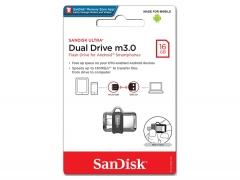 فلش مموری سندیسک SanDisk Ultra Dual Drive m3.0 16GB