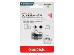 فلش مموری سندیسک SanDisk Ultra Dual Drive m3.0 64GB