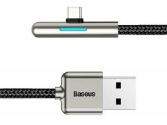 کابل شارژ تایپ سی هواوی بیسوس Baseus Iridescent Lamp HW Flash Charge Mobile 1m