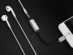 مبدل لایتنینگ شارژ و صدا بیسوس Baseus Audio Converter L32 iphone Male to 3.5mm