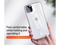 قاب ژله ای بیسوس آیفون Baseus Transparent Key Phone Case iphone 11 Pro