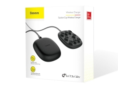 شارژر وایرلس بیسوس Baseus Suction Cup Wireless Charger