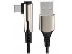 کابل شارژ سریع تایپ سی راک Rock M1 RCB0732 Type-C Cable 1M