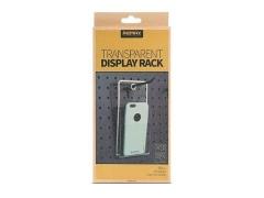 استند دیواری نگهداری موبایل ریمکس Transparent Display Rack Remax